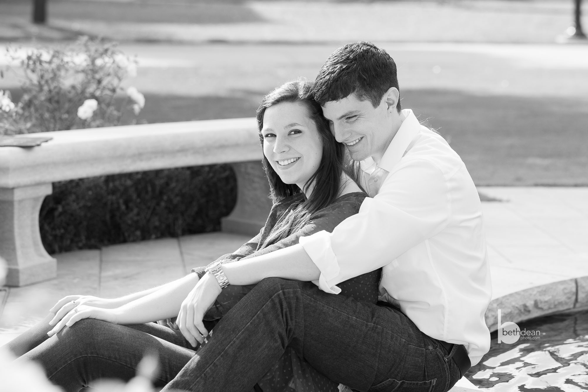 Beth Dean Photography - engagement photos in OKC