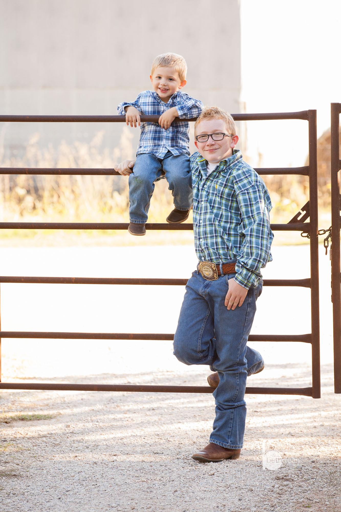 Beth Dean Photography - Oklahoma Family Farm Photos