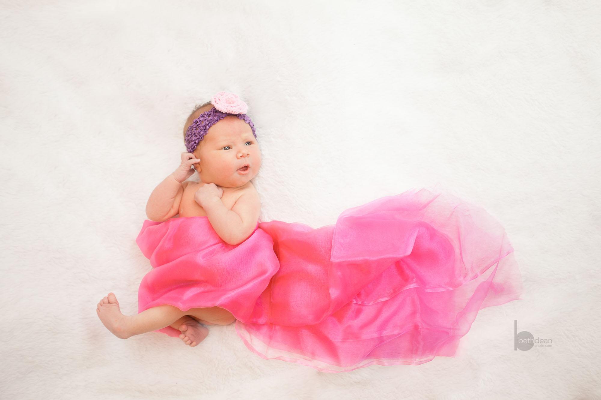 Beth Dean Photography - newborn baby girl