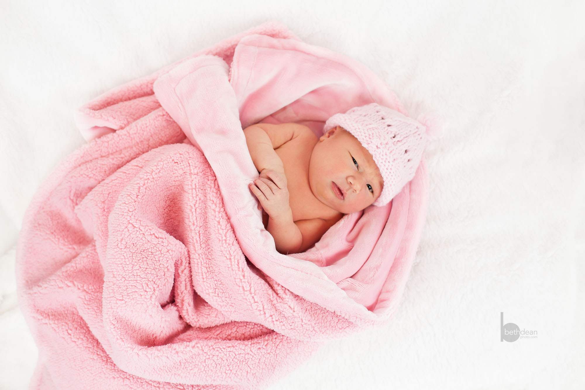 Beth Dean Photography - newborn baby girl